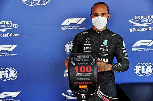 Spanish GP: Hamilton secures 100th F1 pole position