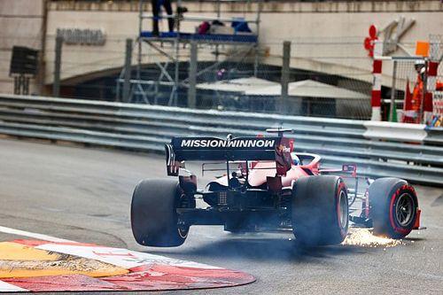 Giallo Ferrari: cosa ha fatto cedere il porta mozzo di Leclerc?