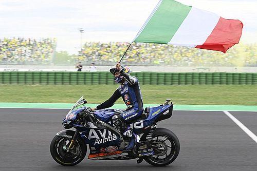 Inhalen 'MotoGP-baas Marquez' hoogtepunt voor podiumklant Bastianini