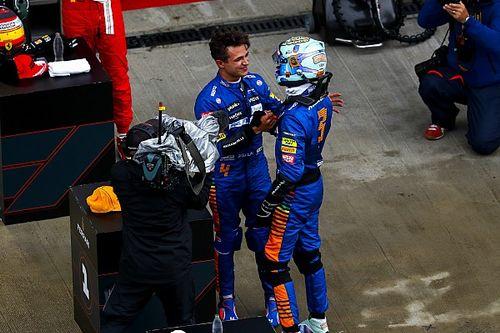PLACAR F1: Pole confirma 'goleada' de Norris sobre Ricciardo; confira duelos internos