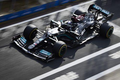 Технический анализ: зачем Mercedes экспериментирует с передним крылом