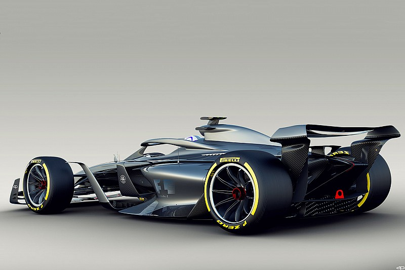 Dirty air impact reduced by five times in F1 2021 concept
