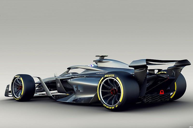 Rövidebb tengelytáv és jobb hangerő a 2021-es F1-kocsikkal