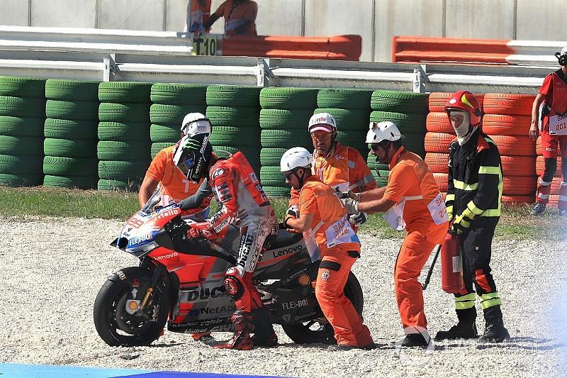 Bremsklotz Marquez: Darum übertrieb es Lorenzo und stürzte