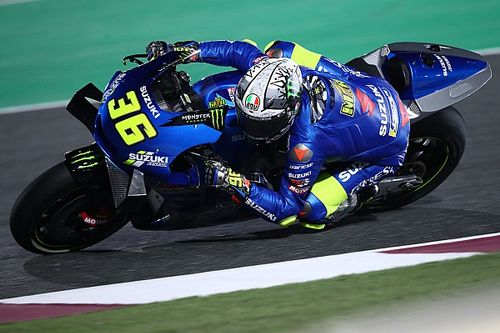 Suzuki already testing 2022 MotoGP engine in Qatar