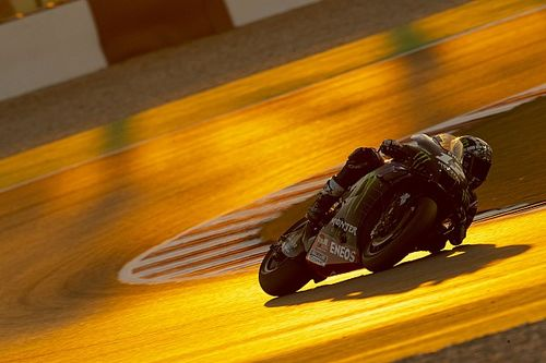 Viñales no probó en Qatar el chasis 2021 de Yamaha