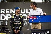 Ricciardo explains F1 podium tattoo bet with Abiteboul