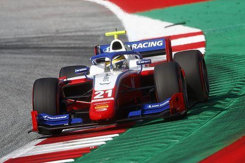 Шварцман поднялся на подиум в дебютной гонке Формулы 2