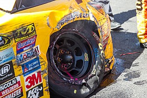 NASCAR Cup Breaking news Tire issues leave Gibbs and Goodyear searching for answers