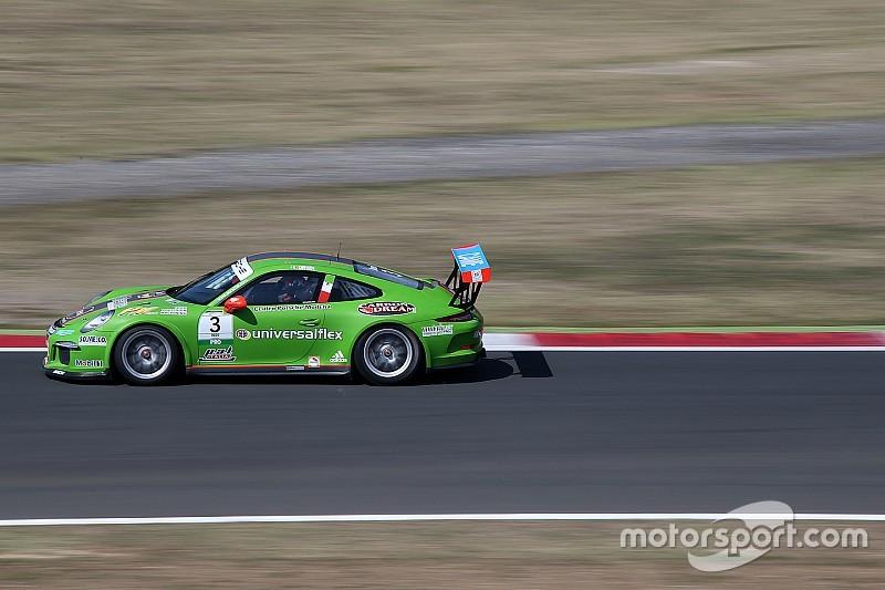 A Vallelunga Mattia Drudi è il più veloce nel secondo turno ufficiale della Carrera Cup Italia
