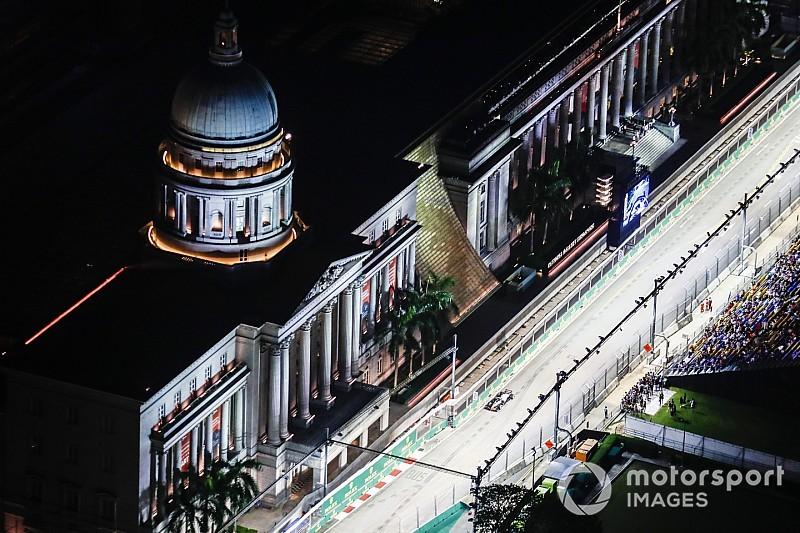 Formel 1 Singapur 2018: Die schönsten Bilder am Freitag