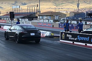 Pro driver takes Tesla Model 3 Performance to the track