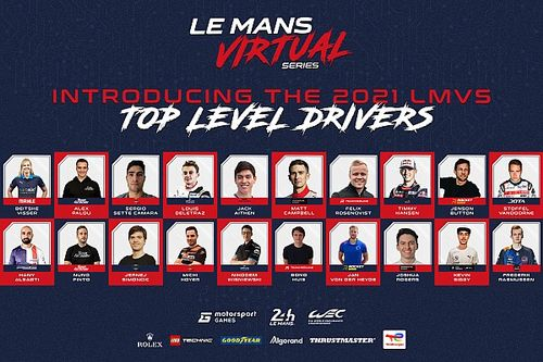 MSGM et l'Automobile Club de l'Ouest dévoilent la liste des engagés pour la saison 2021-22 des Le Mans Virtual Series