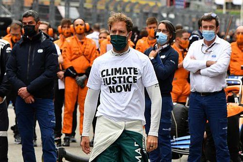 """Vettel alerta que """"F1 desaparecerá"""" se não corrigir híbridos """"inúteis"""""""