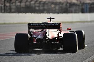Vettel nyerte az első tesztnapot a Ferrarival a McLaren és a Haas előtt