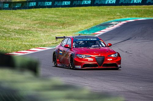 Webb joins Romeo Ferraris for electric Pure ETCR series