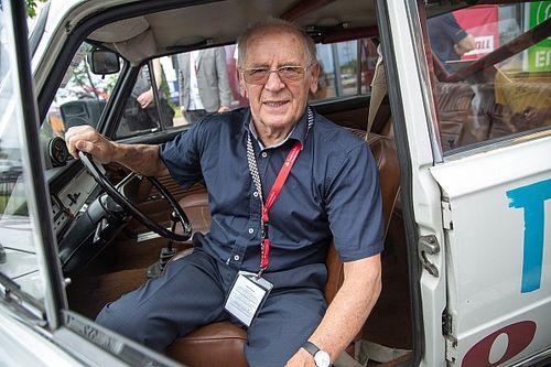 À 91 ans, il devient le plus vieux concurrent du WRC