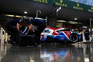 Shanghai WEC race halted due to heavy rain