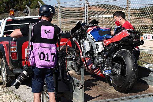 Jorge Martin set for surgery after violent MotoGP practice crash