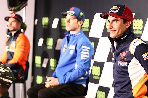 """Rossi cree que Márquez """"ya será fuerte desde mañana por la mañana"""""""