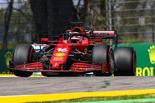 """Leclerc: """"La Ferrari se siente muy bien comparada con Imola 2020"""""""