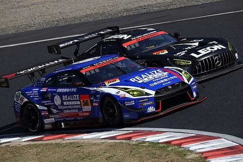 How vacant pit stalls decided Okayama GT300 battle