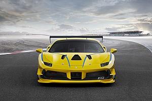 Ferrari Breaking news Ferrari reveals turbocharged 488 Challenge car for 2017