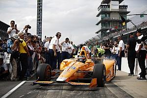 IndyCar 速報ニュース 【インディ500】アロンソ「ファスト9に向けてもっと速さを引き出す」