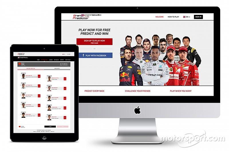 Motorsport Gaming запускает Grand Prix Predictor – игру для автоспортивных энтузиастов