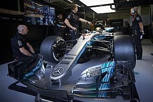 Formula 1 Special feature VIDEO: Seberapa besar mobil Formula 1 Mercedes?