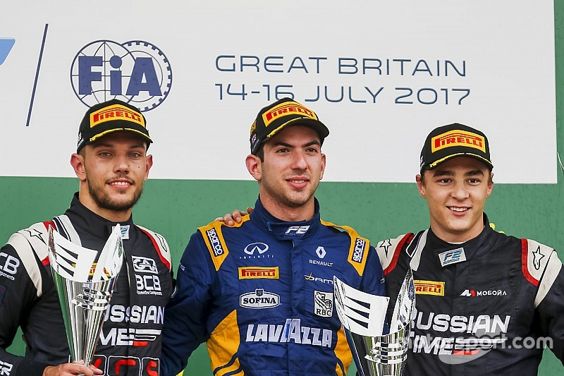 F2 Silverstone: Latifi menangi Sprint Race, Gelael melintir