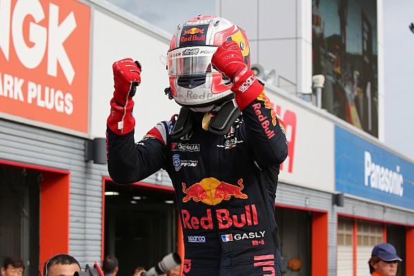 Super Formula Gasly, premier rookie à gagner en 2017