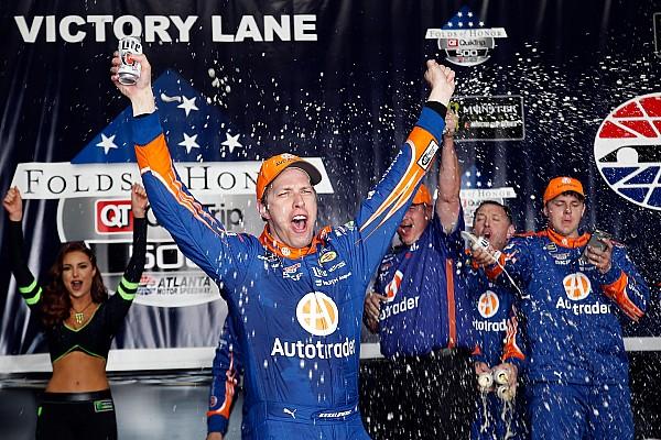 Monster Energy NASCAR Cup Atlanta'da lider Brad Keselowski!