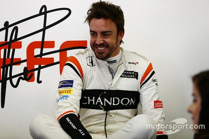 【F1】アロンソ「良い感触と結果を得ぬまま、僕はレースを止めない」