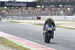 MotoGP Breaking news Rossi sticks with new Yamaha MotoGP chassis for Assen