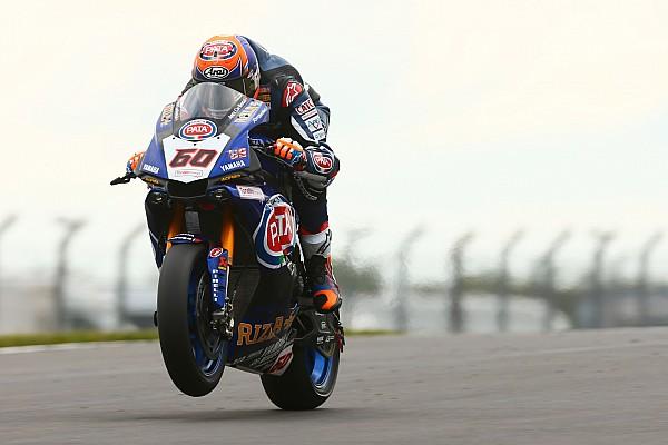 """Superbikes Van der Mark blij: """"We kunnen strijden om podiumplaatsen"""""""