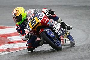 Moto3 Reporte de la carrera Fenati da una lección en mojado; Mir, 2º
