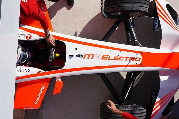 Formel E News Formel E: Mahindra präsentiert Neuwagen M4Electro in Goodwood