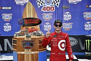 NASCAR Cup Breaking news Race-winner Kyle Larson uninjured in car accident leaving track