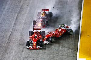 Formel 1 Feature Eddie Irvine & Leser einig: Sebastian Vettel hat Startkollision