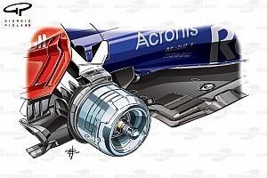 Formule 1 Diaporama Bilan technique - Les évolutions de la Toro Rosso STR12