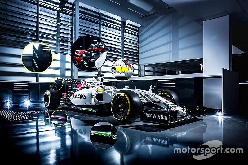 Технический анализ: Williams FW38 – перемен больше, чем кажется