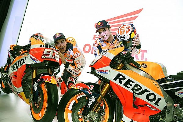 MotoGP Actualités Márquez et Pedrosa visent haut et sont prêts à se battre