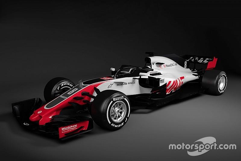 Haas 2018 F1 aracını tanıtan ilk takım oldu!