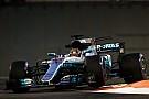 F1 アブダビGP:ハミルトンがレコード樹立でFP2首位。ベッテル僅差で続く