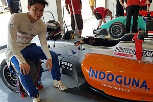 Indian Open Wheel Qualifying report MRF Chennai: Presley Martono cetak pole Race 1 dan Race 3
