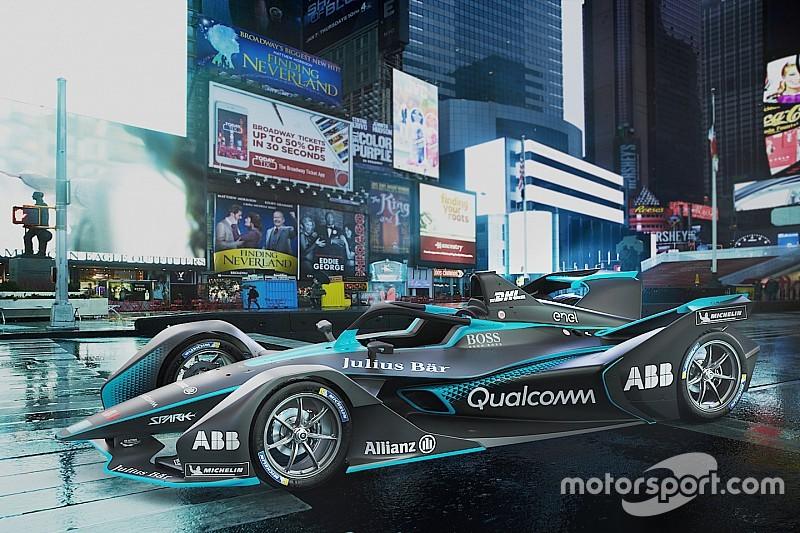 Нова машина Формули Е розженеться до 300 км/год