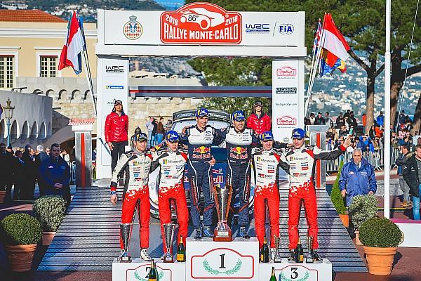 Le double podium du Monte-Carlo, le
