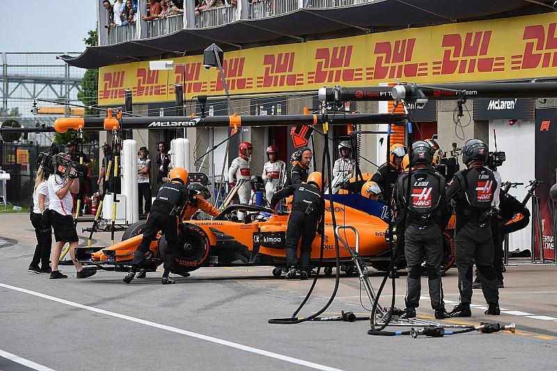 Alonso abandonó en Canadá: