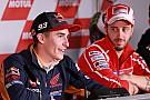 MotoGP Маркес признался, что раньше не считал Довициозо соперником